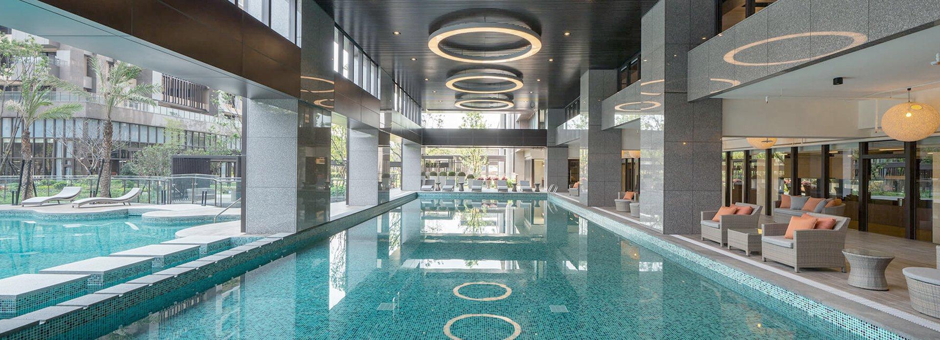 4300坪壯闊基地 陽光泳池